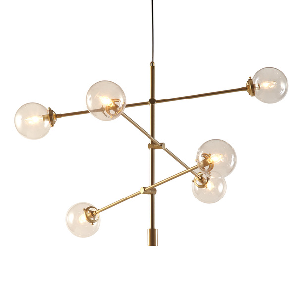 West elm mobile chandelier grand look for less view full size aloadofball Image collections