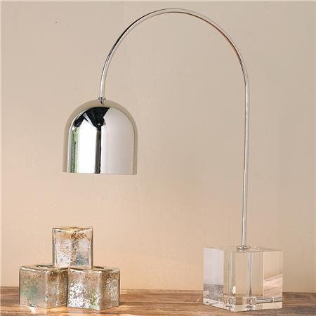 Regina Andrew Crystal Base Dome Task Table Lamp