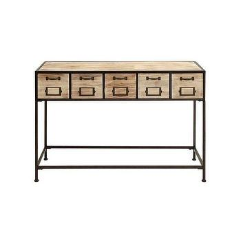 Industrial Console Table Products bookmarks design inspiration
