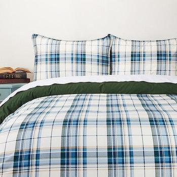 city gingham duvet cover shams west elm. Black Bedroom Furniture Sets. Home Design Ideas