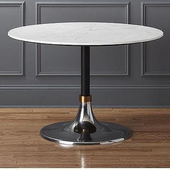 white carrara marble rectangular brass legs dining table. Black Bedroom Furniture Sets. Home Design Ideas
