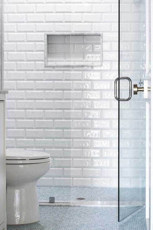 Large Walk In Shower Traditional Bathroom Tr