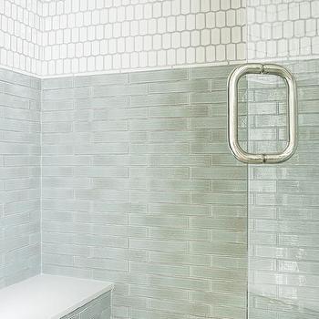 Jade Green Shower Backsplash Tiles Design Ideas