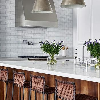 Enjoyable Brown Leather Kitchen Basketweave Counter Stools Design Ideas Caraccident5 Cool Chair Designs And Ideas Caraccident5Info