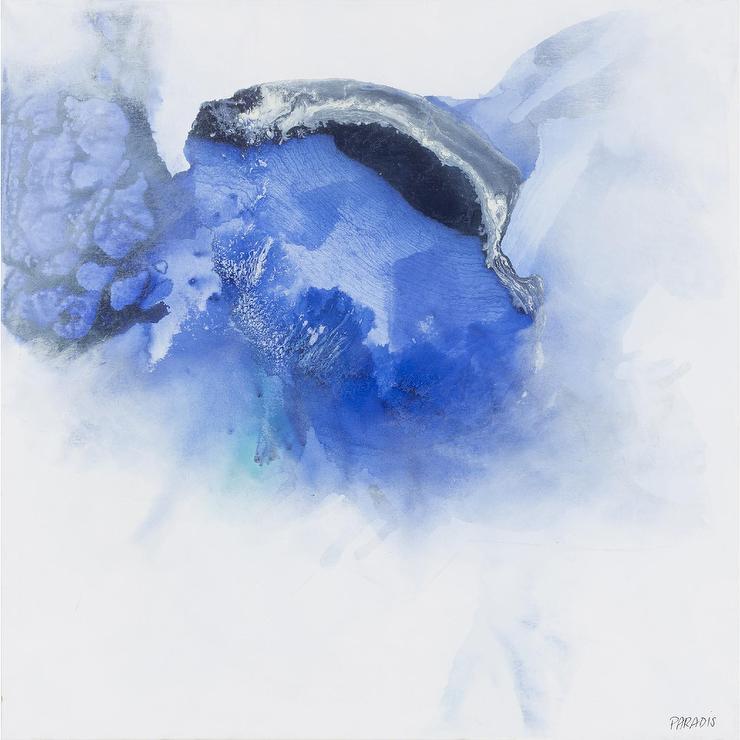 Color Migration Blue Colorful Abstract Bird Art Hummingbird Art