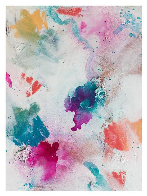 Colorful Watercolor Abstract Art