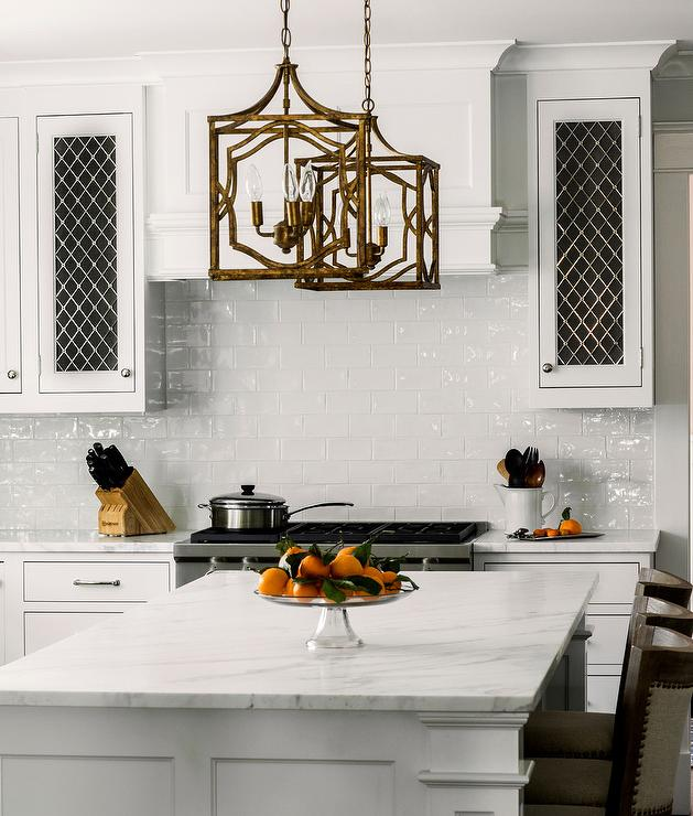 Metal Cabinets Kitchen: Metal Lattice Kitchen Cabinet Doors