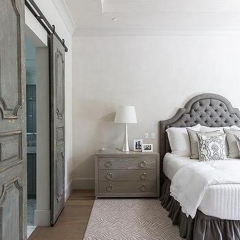 Dark Gray Bedroom Eclectic Bedroom Elizabeth Bauer Design