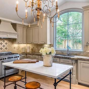 Travertine Tile Kitchen Backsplash Design Ideas