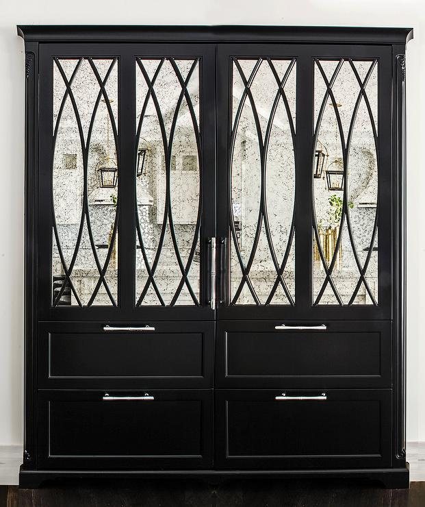 X Mullion Mirrored Doors Design Ideas