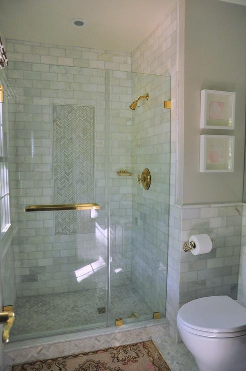 Glass Subway Tile Shower Ideas