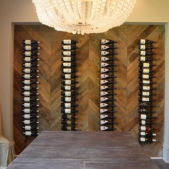 Wood Wine Rack Ladders Design Ideas