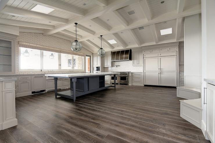 Kitche With Skylights Contemporary Kitchen Benjamin
