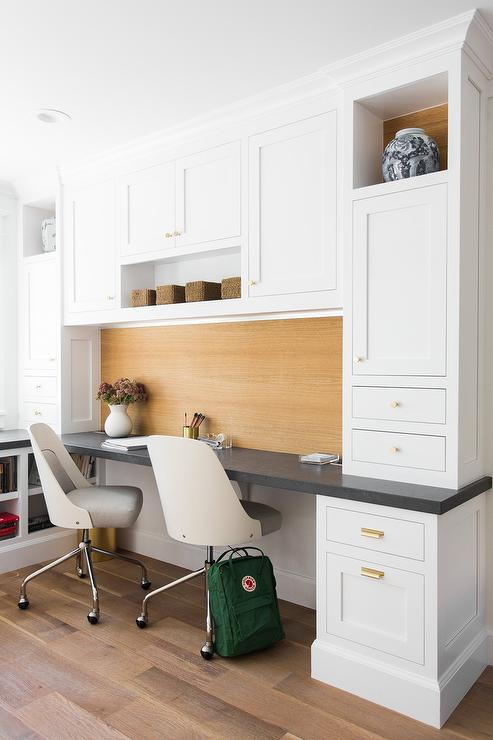 White And Gray Desk Chairs