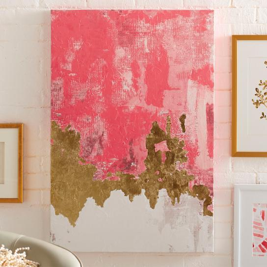 8x10 peach gold abstract by mshartel on etsy for 8x10 bedroom ideas
