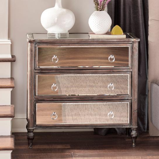 Lovely Brown Wooden Distressed Legs Chest