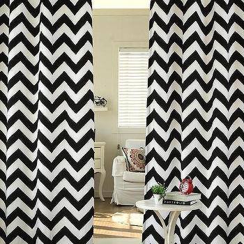 Curtains Ideas black and white patterned curtains : Geometric Pattern Curtains - Products, bookmarks, design ...
