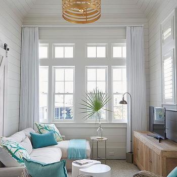 Beach Style Living Room Design Ideas