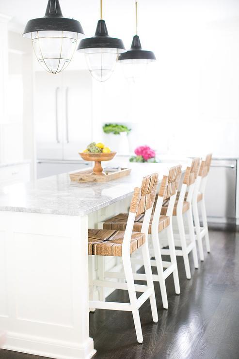 Industrial Light Pendants Contemporary Kitchen