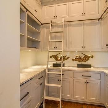 Stacked Kitchen Pantry Cabinets Design Ideas