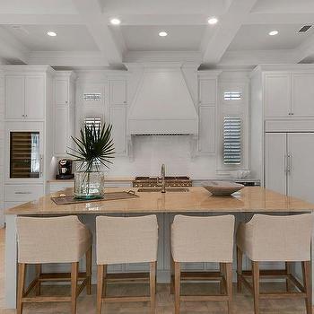White And Tan Kitchen Concept Design Ideas