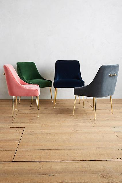 Art Deco Green Chair
