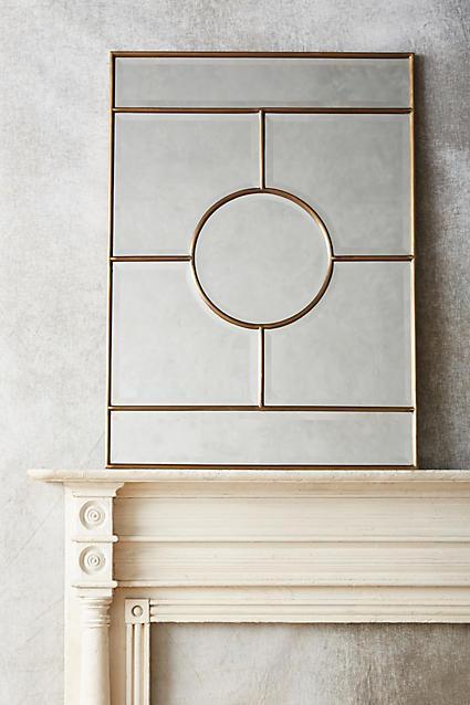 Pierre Geometric Border Mirror