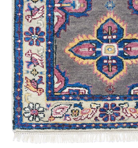 and Pink Antique Persian Rug