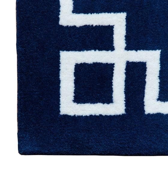 Navy Blue And White Rug Roselawnlutheran