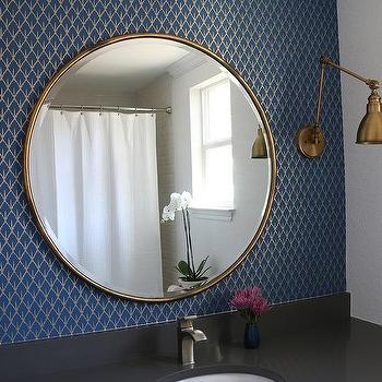 modern bathroom mirrors circular bevel with stylish size wall round x ac design mirror dp unframed diameter frameless neue plain