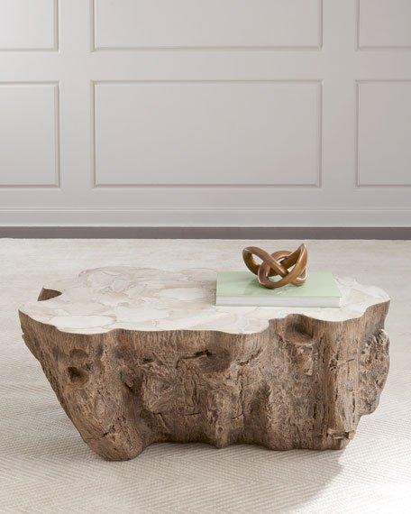 Williams Natural Trunk Table