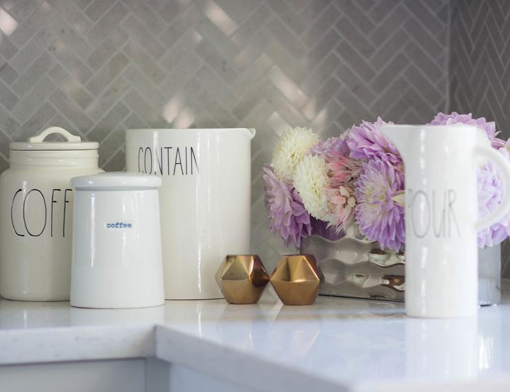 White Kitchen Jars white cermaic kitchen jars design ideas