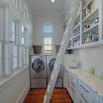 Laundry Room And Pantry Combo With Extra Refrigerator