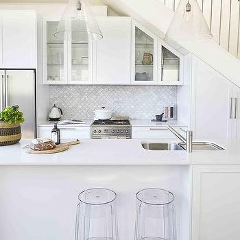 Kitchen Cabinets Under Stairs kitchen cabinets under staircase design ideas