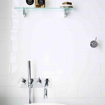 Shelf Over Freestanding Tub Design Ideas