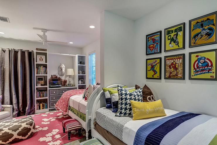 Boy and girl room combo ideas transitional boy 39 s room - Boy girl shared bedroom ideas ...