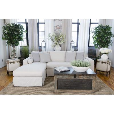 White Skirted Left Sectional Sofa  sc 1 st  Decorpad : wyatt sectional sofa - Sectionals, Sofas & Couches