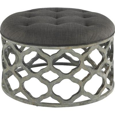 gray carved quatrefoil coffee table - products, bookmarks, design