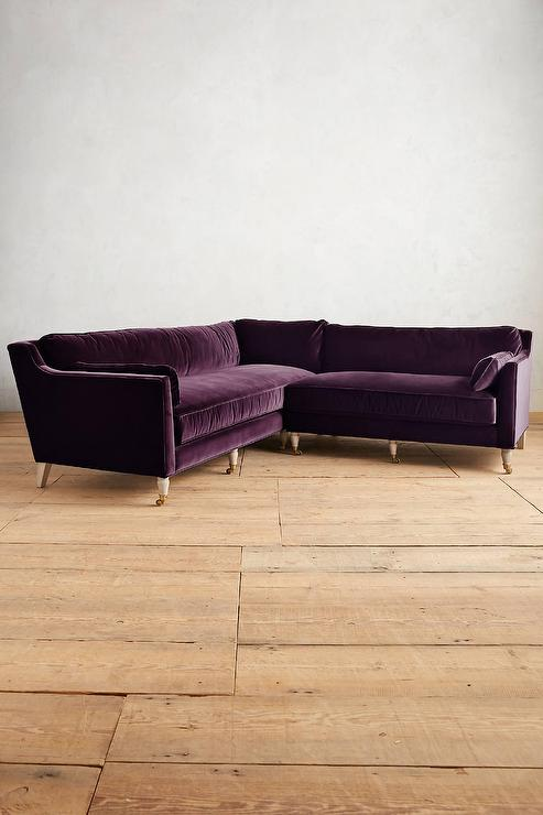 furniture dahlia with purple alluring sectional sofa bonners leather