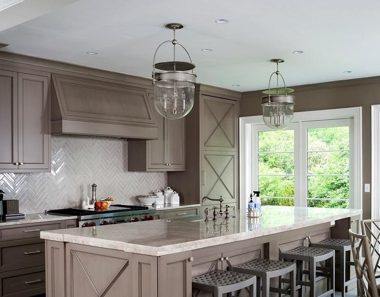 taupe kitchen stools design ideas