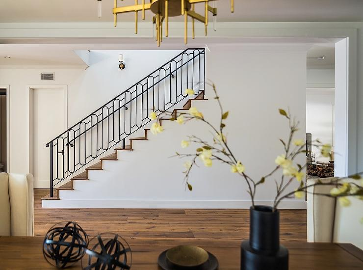 Iron Oval Staircase Design View Full Size
