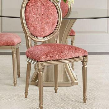 Sole Designs Pinky Chain Wingback Chairs (Set of 2) - Overstock.com