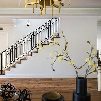 Iron Oval Staircase Design