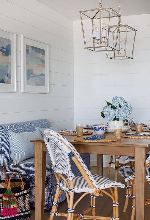 Shiplap Dining Room Design Ideas