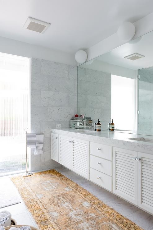 Bathroom Cabinet On Countertop Transitional Bathroom