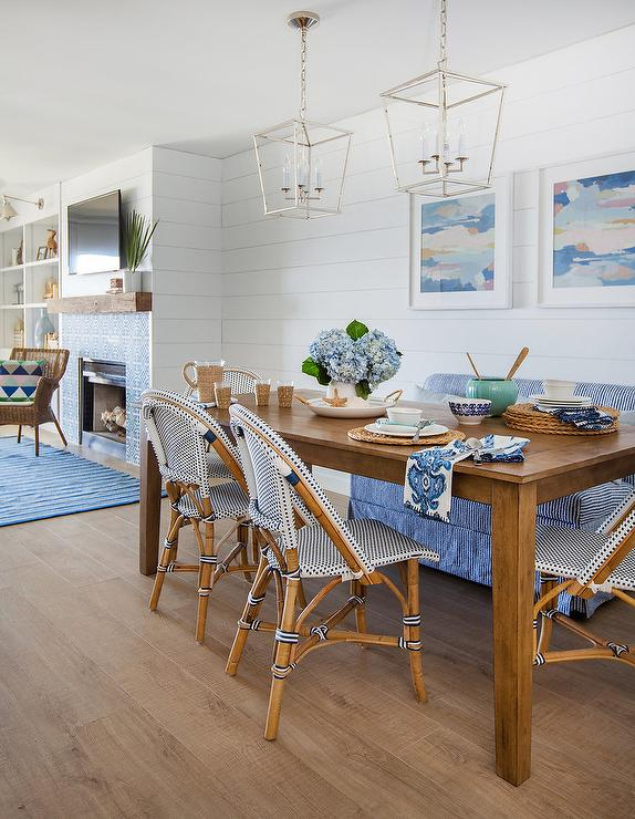 Marvelous Brown And Blue Cottage Dining Room Cottage Dining Room Andrewgaddart Wooden Chair Designs For Living Room Andrewgaddartcom