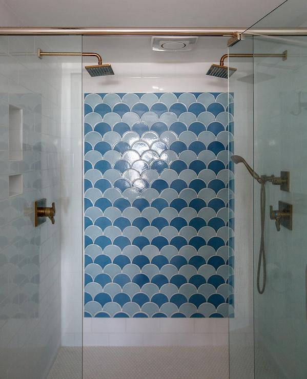 Shower Accent Wall Design Ideas