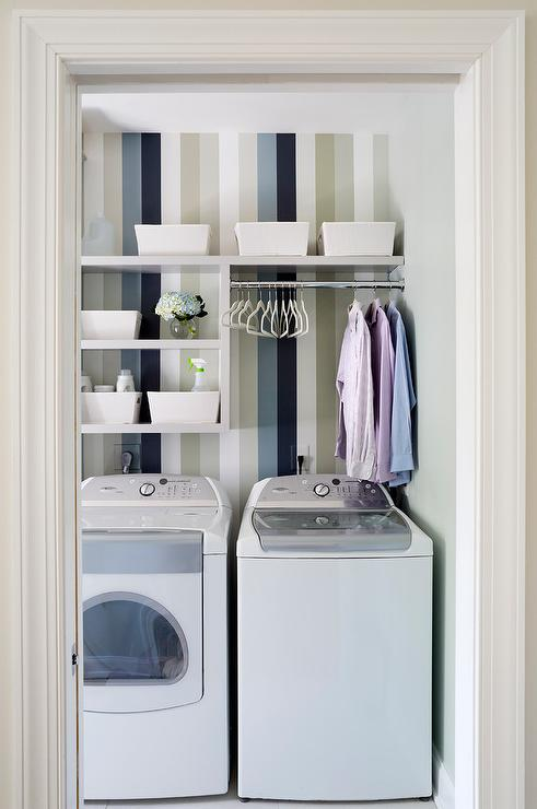Shelves Above Washer Dryer Design Ideas