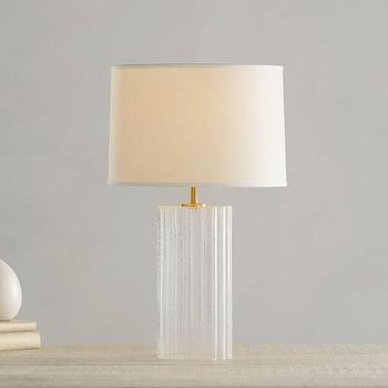 Sarana White Bedside Lamp
