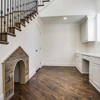 Dog Bed Below Staircase Design Ideas